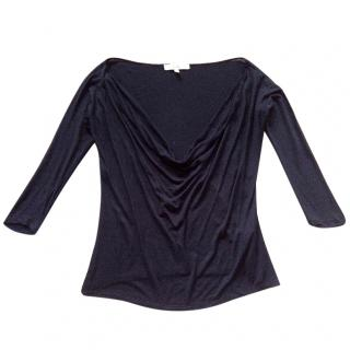 MaxMara black jersey top