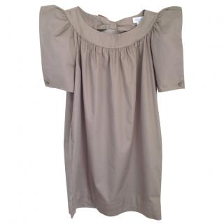 Paul & Joe khaki mini dress