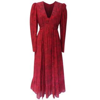 Anonymous by Ross & Bute long silk dress