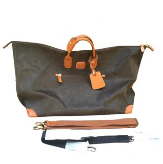 BRIC'S Leather Weekender Travel Bag