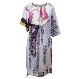 Michael Van Der Ham Georgette Dress