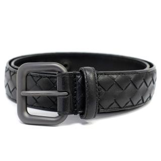 Bottega Veneta Intrecciato Black Belt