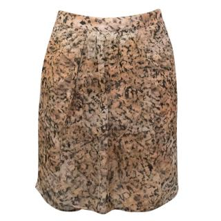 Saloni Shear Mini Skirt