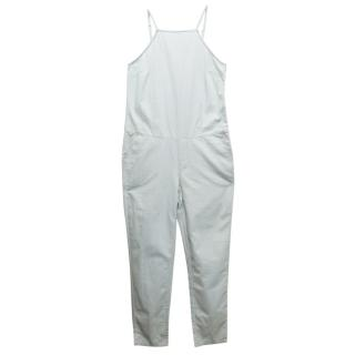 Paige Light Wash Blue Jumpsuit