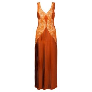 Stella McCartney Pleated Maxi Dress