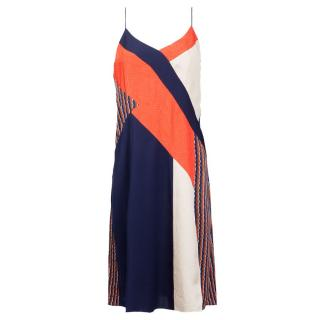 Diane von Furstenberg Colourblock Dress