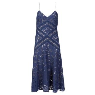 Lover Blue Cotton Dress