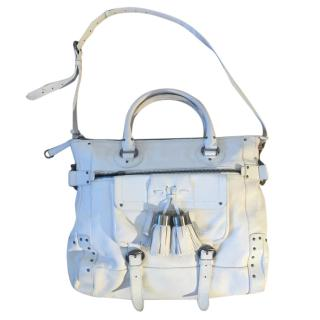 Luella White Large Leather Handbag