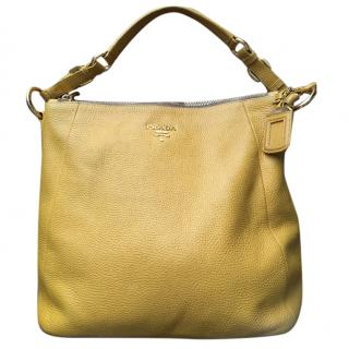 Prada Yellow Shoulder Bag