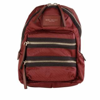 Marc Jacobs Bordeaux Fabric Backpack
