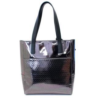 MCQ Alexander McQueen Metallic Tote Bag