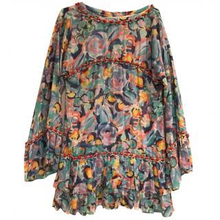 Chanel Multicoloured Kaftan Dress