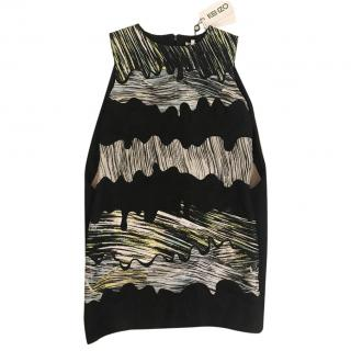 Kenzo Black and Multicoloured Dress