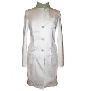 Piazza Sempione White cotton coat