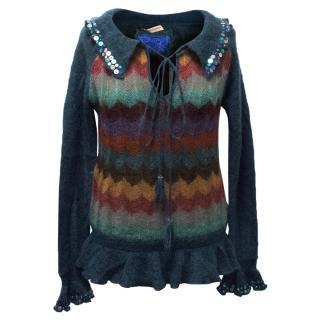Matthew Williamson Multi-Coloured Mohair Jumper