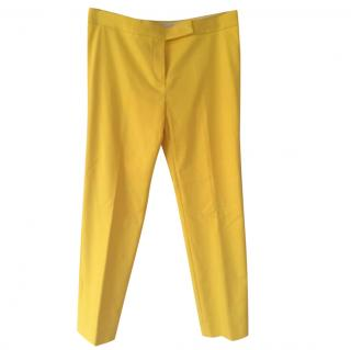 Max Mara Yellow Trousers