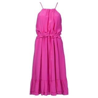 Raoul Pink Silk Dress