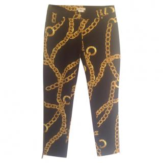 Celine Gold Chain Print Pants