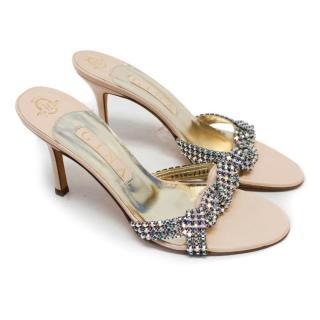 Gina Embellished Heeled Sandals