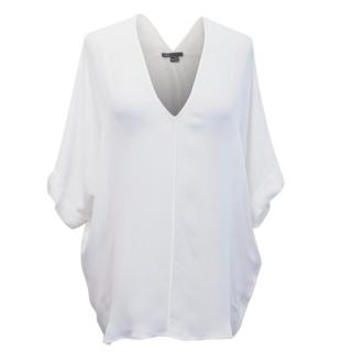 Vince White Oversized Top