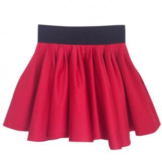 Acne satin mini skirt