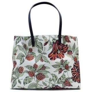 Tory Burch Large Floral Shoulder Bag