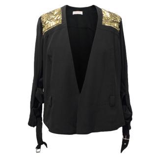 Sass & Bide Black Embellished Jacket