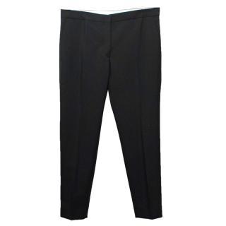 Acne Studios Black Mohair Blend Trousers
