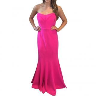 Rachel Gilbert Pink Gown