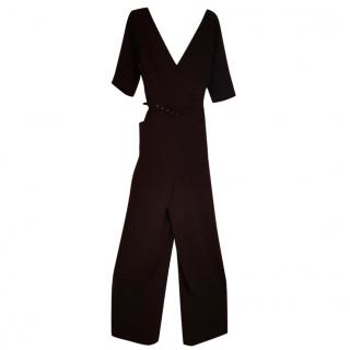 Tara Jarmon Navy Blue Jumpsuit