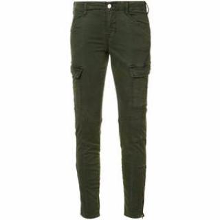 J Brand green cotton cargo Jeans