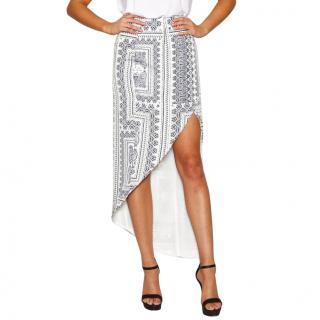 Finders Keepers Seen It All Maxi Skirt Bandana Light size S