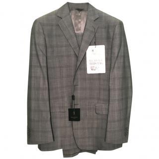 YVES SAINT LAUREN Men's Lightweight Check Suit