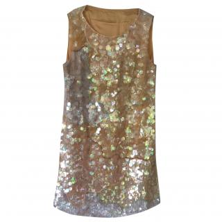PHILOSOPHY  Di Alberta Ferretti Sequinned Shift Dress
