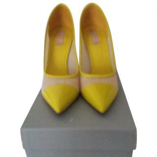 REED KRAKOFF Yellow Heels