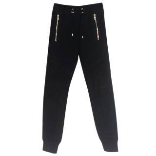 Balmain Mens Black Trackpants