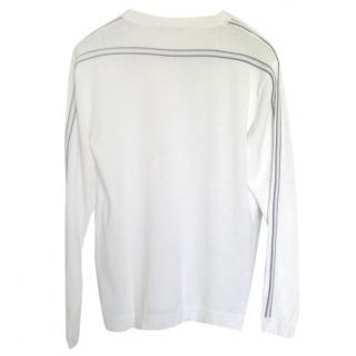 Zegna White Pullover
