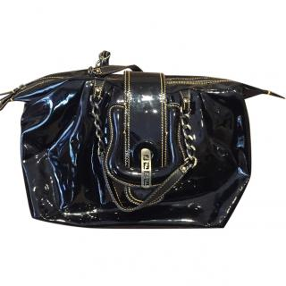 Fendi Black Patent Bag