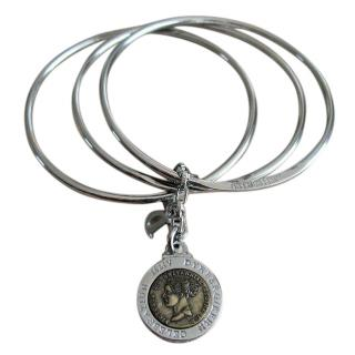 Dyrberg/Kern Bracelet with Coin Pendant