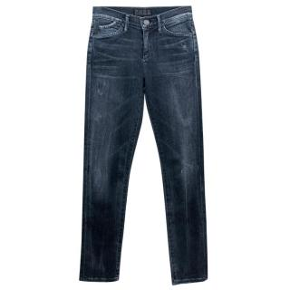 Goldsign Distressed Skinny Jeans