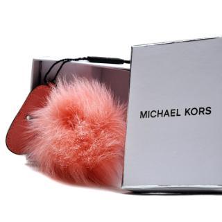 Michael Kors Fuzzy Shades Fluffy Keyring