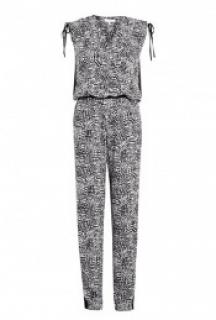 Iro 'Berry' Printed Crepe Jumpsuit