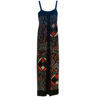 Versace Multicoloured Sequin Gown