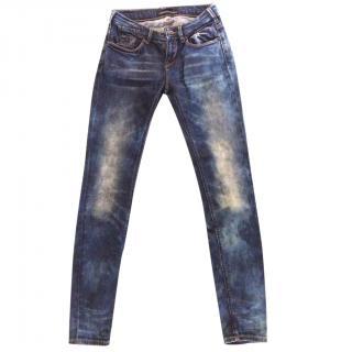 Maison Scotch Low-Rise Skinny Jeans
