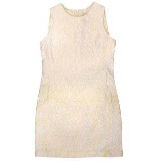 Iris & Ink White Shift Dress