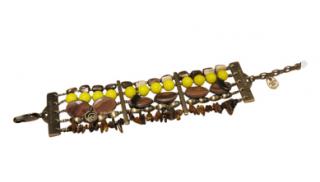 Dyrberg/Kern Bohemian Bracelet with Mineral Stones