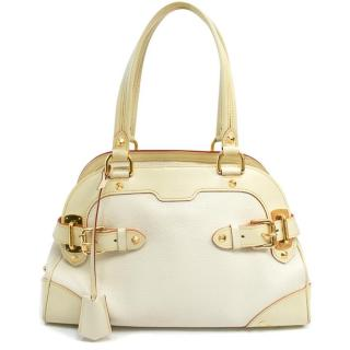 Louis Vuitton Cream Shoulder Bag