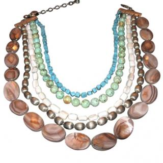 Dyrberg/Kern Necklace in Mineral Stones