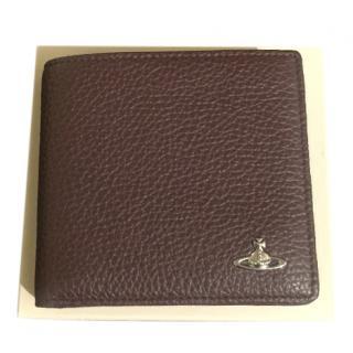 Vivienne Westwood Brown Leather Wallet