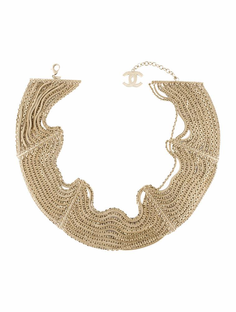 Chanel Gold Multi-Strand Chain Belt
